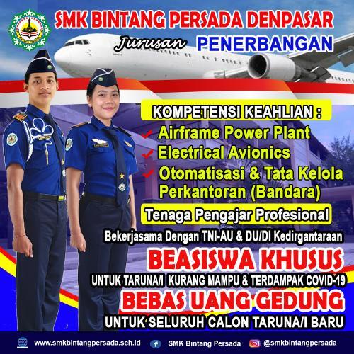 Jurusan Penerbangan SMK Bintang Persada