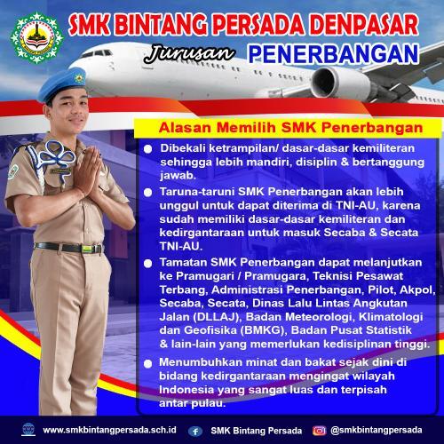 Alasan Memilih SMK Penerbangan